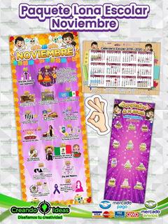 Paquete Lona Puerta, Calendario Y Más #creandoideasveracruz