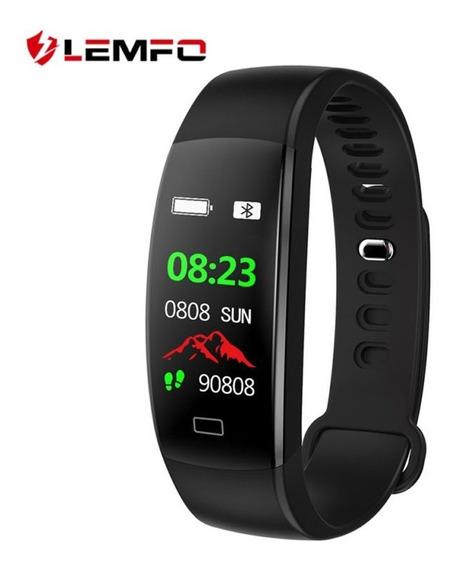 Pulseira Inteligente Smartband Monitor Cardíaco Relógio