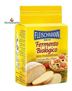 Fermento Biológico Seco Instantâneo Fleischmann 3 X 500g