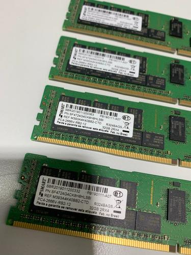 Memorias Hpe 128gb (4x 32gb) Ddr4-2666 Ecc Reg. 840758-291