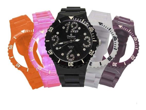 Relógio Feminino Champion Troca Pulseira Cp30182d/57026