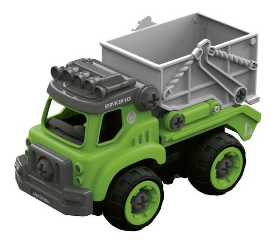 Diy Camion Recolector Para Armar Con Herramienta 31 Pza Full