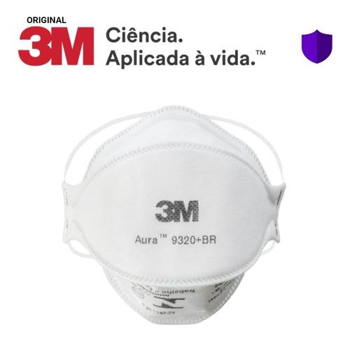 Imagem 1 de 6 de 50 Máscara Respirador 3m Pff2 Aura 9320 N95 - C/ Nota Fiscal