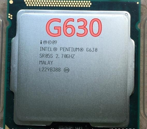 Pentium Dualcore G630 Socket 1155 2.7ghz Perfeito Garantia