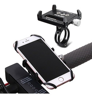 Gub Bike Phone Mount Holder Bicycle Handlebar Metal Cradle