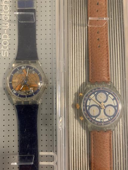 Relogios Swatch Chronos,anos 90.sem Uso. Valor 790 Cada