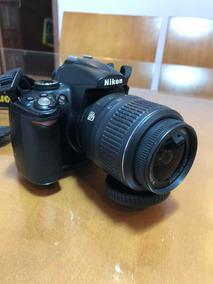 Nikon D5000 + Lente 18-55+ Cartao + Baterias E Parasol