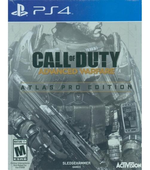 Ps4 - Call Of Duty: Advanced Warfare Edição Pro + Toda Dlc!