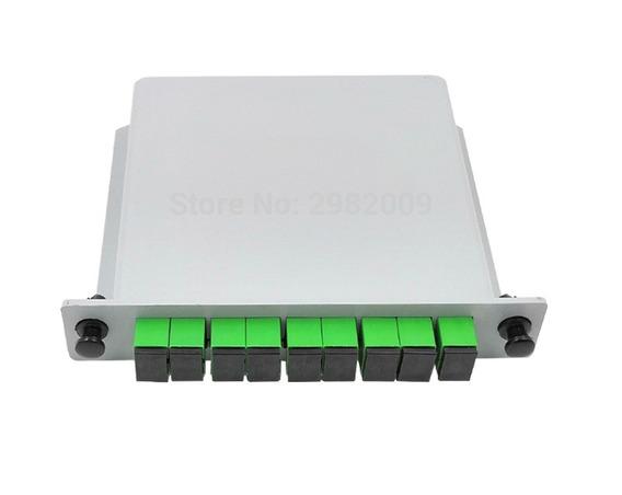 5 Splitter Box Óptico Modular Lgx Plc 1x8 Sc Apc Conectizado