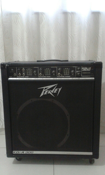 Caixa Amplificador Para Teclado Peavey Kba/300