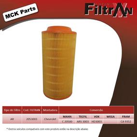 Filtro De Ar Agrale Furgovan 6000 8000 Filtran Novo