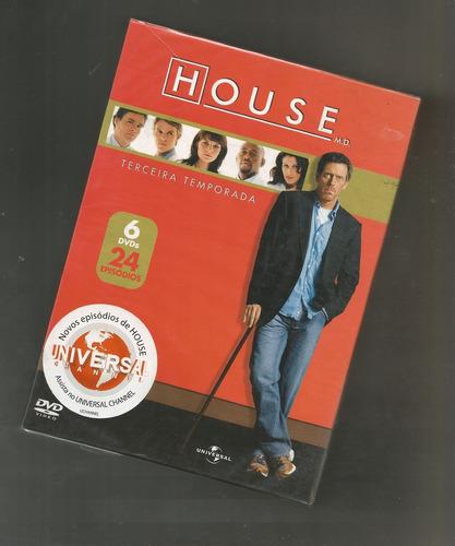 House Terceira Temporada Box Lacrado