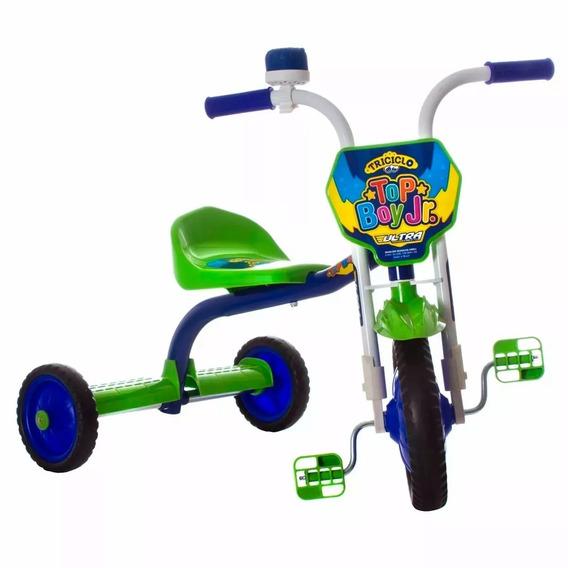 Triciclo 3 Rodas Bicicleta Infantil Menino Ultra Bike