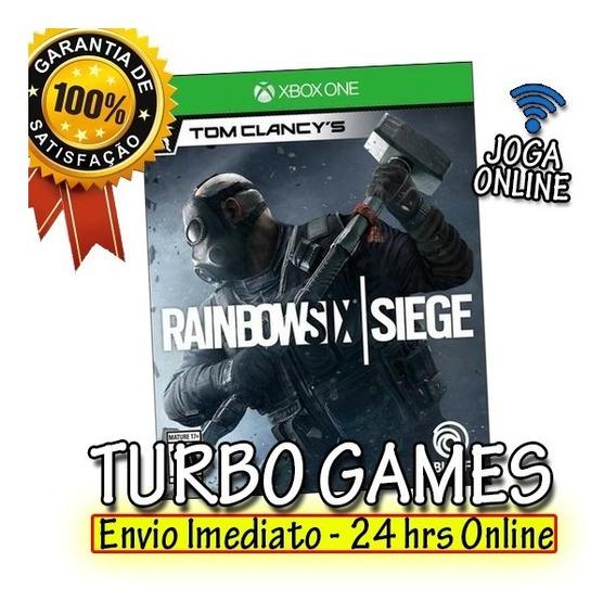 Rainbow Six Siege Xbox One Mídia Digital + Brinde