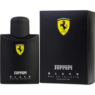 Ferrari Black 100% Original 125 Ml - Envíos Inmediatos