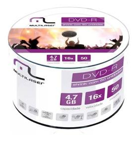 50 Dvds Print Multilaser Original