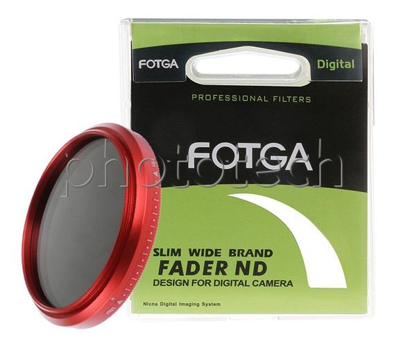 Filtro Nd Variável 49mm Fotga Slim Wide Band Fader