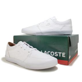 2b8f066ee Sapato Branco Lacoste - Calçados, Roupas e Bolsas com o Melhores ...