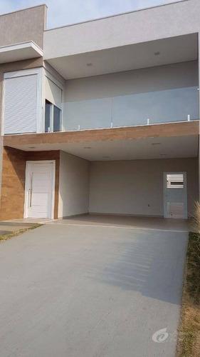 Casa Residencial À Venda, Jardim Esplanada, Indaiatuba. - Ca1837