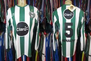 Coritiba 2005 Camisa Reserva Tamanho G Mangas Longas # 5.