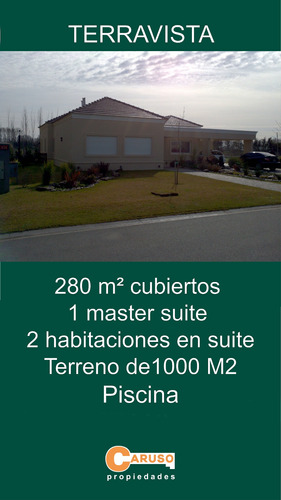 Casa En Terravista 280 M2 3 Dormitorios