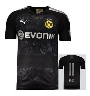 Camisa Borussia Dortmund Lançamento Reus #11 Pronta Entrega