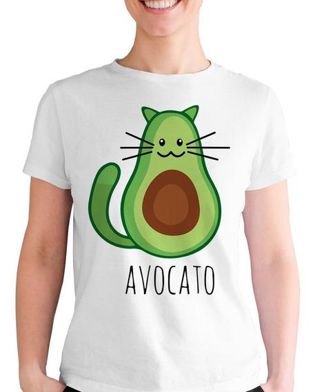 Playera Lindo Gatito Aguacate Avocato Bigotes Token Gato Cat