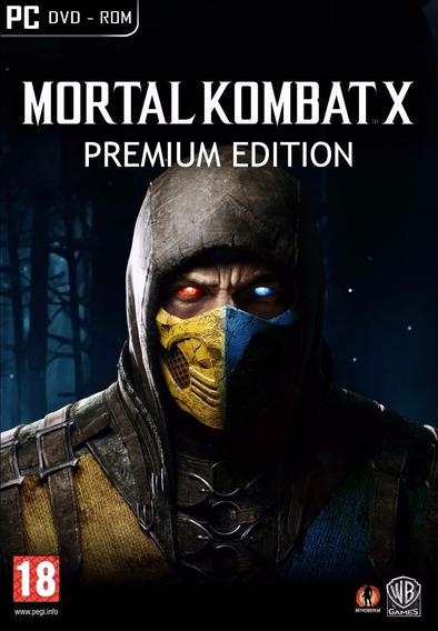 Mortal Kombat X Premium Edition Steam Cd Key