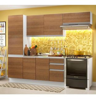 Cozinha Compacta Madesa 100% Mdf Acordes Glamy Com Armário