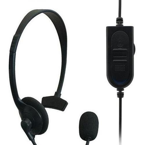Auriculares Ps4 Y Microfono Audifonos Xbox One Jugar Online