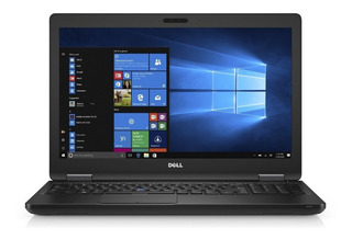 Notebook Dell Latitude I7 8gb 256gb Ssd Win10 Pro 15,6