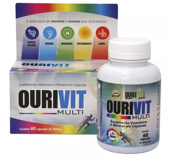 Ourivit Multi Com 60 Comprimidos Não Engorda