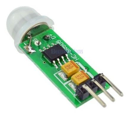 Mini Sensor De Movimento Presença Pir Hc-sr505 P/ Arduino