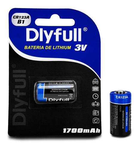 Imagem 1 de 5 de Bateria Pilha Alkalina Cr 123a 3v Lithium P/ Sensor Alarme