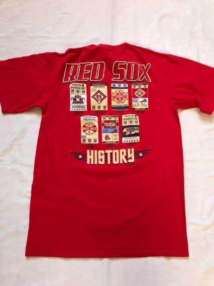 Playera Boston Red Sox Campeonatos S Majestic #308