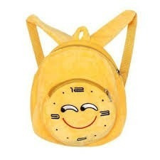 Mochila Reloj Emoji 30 Cm - Oferta - 06522