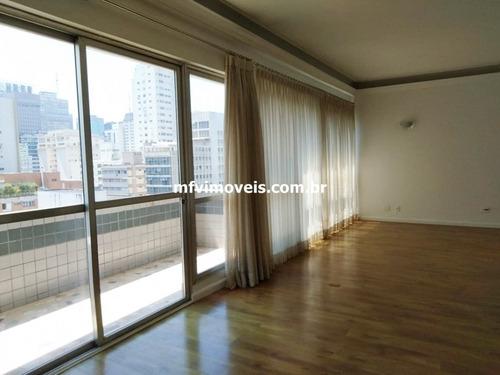 Imagem 1 de 9 de Apartamento Amplo De 3 Quartos, 210m² E 2 Vagas Para Aluguel - Ap3882