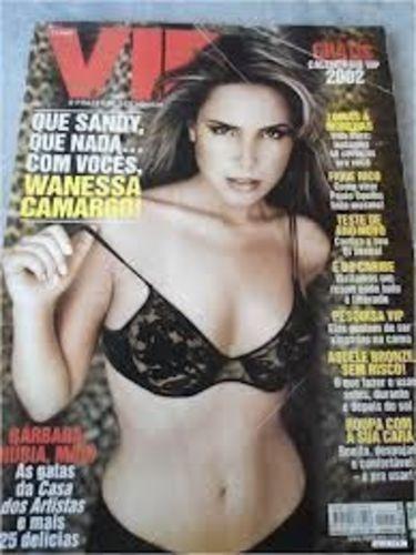 Revista Vip Janeiro 2002 Wanessa Camargo Varios