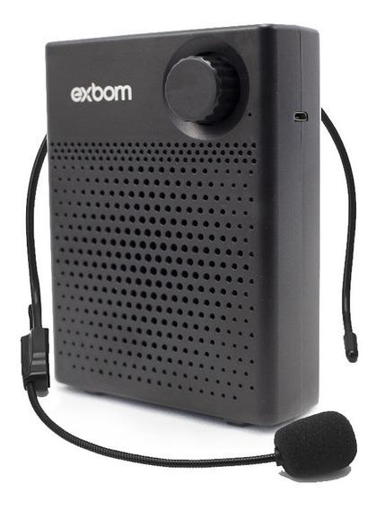 Megafone Amplificador Voz Microfone Professor Bluetooth T17
