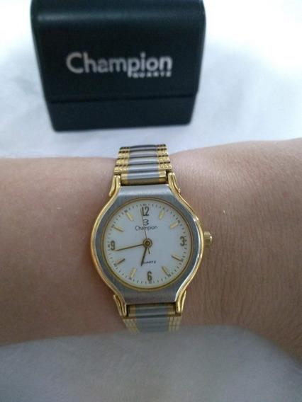 Relógio Champion Feminino (usado Em Perfeito Estado)
