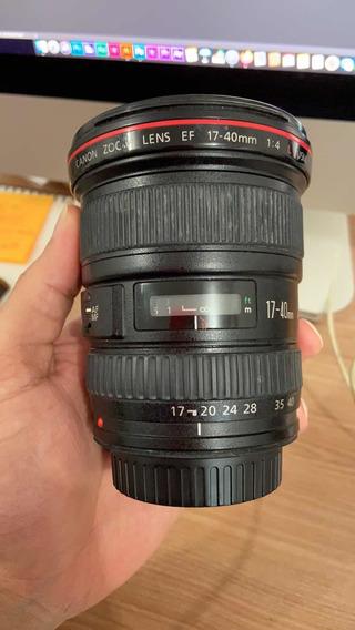 Lente Canon 17-40 F4