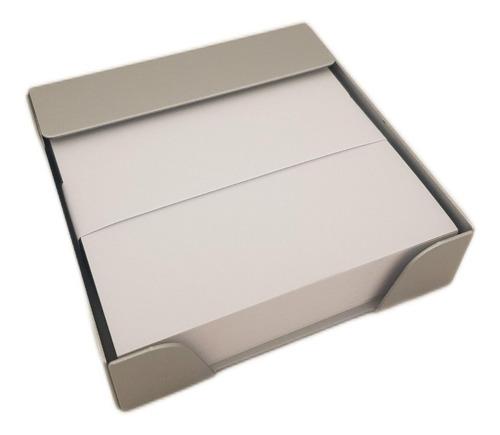 Imagen 1 de 2 de Portataco De Metal Con Papel Blanco