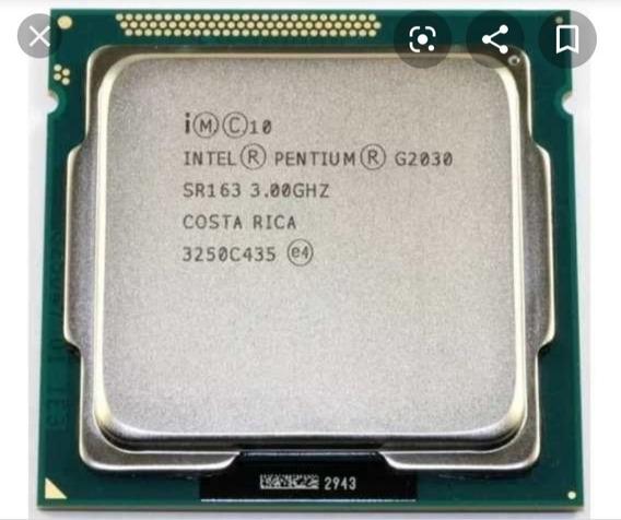 Processador Intel(r)pentium(r) Cpu G2030 @3.0ghz Socket 1155