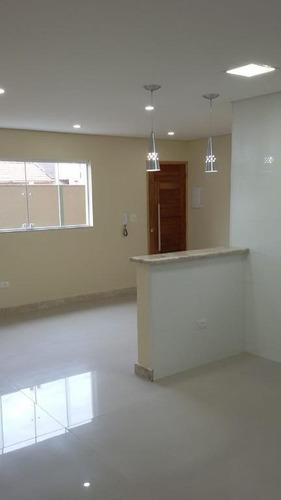 Imagem 1 de 10 de Sobrado Em Condomínio Na Penha Com 2 Suítes, 3 Vagas, 90m² - So0606