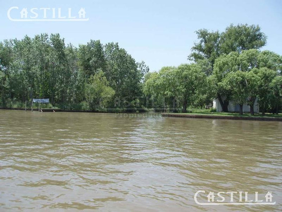 Venta De Terreno Sobre Río Paraná Miní En Tercera Sección Del Delta
