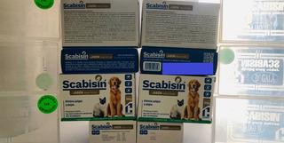 Scabisin Jabón 100 Gr Con Jabonera P/pulga Y Piojo 10 Piezas