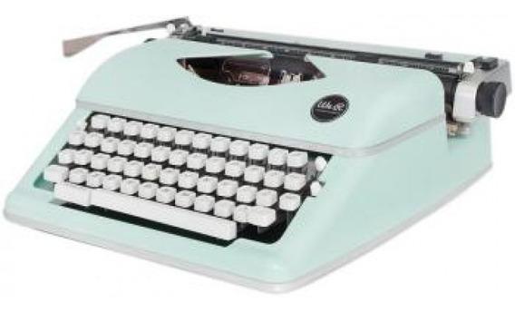 We R - Máquina De Escrever Typewriter - Menta - (663062)