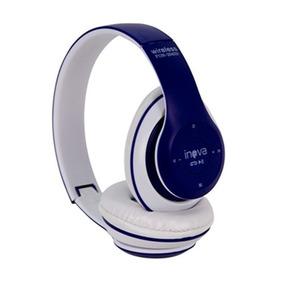 Fone De Ouvido Bluetooth Sem Fio Wifi Cartão Memoria Sd/fm