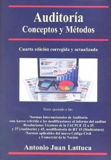 Auditoría Conceptos Y Métodos 2º Rt 32 A 35 Y 37 Lattuca