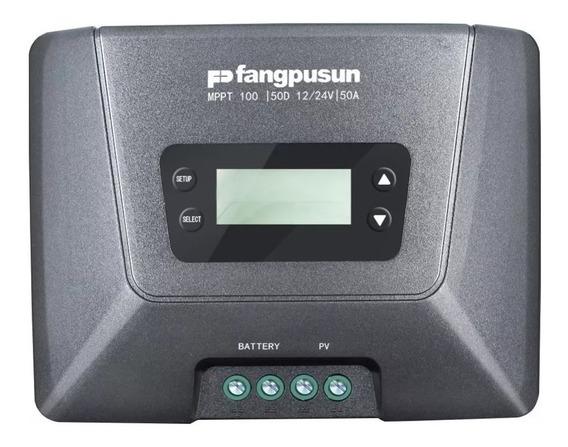 Controlador Carga Solar Mppt 50a 12v 24v Fangpusun